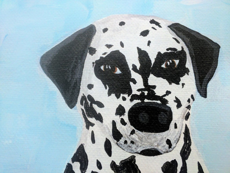 Dalmatian Canvas 8 x 10 wall art image 0