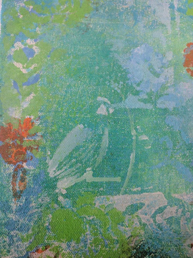 Mixed Media Bird Canvas Wall Art image 0
