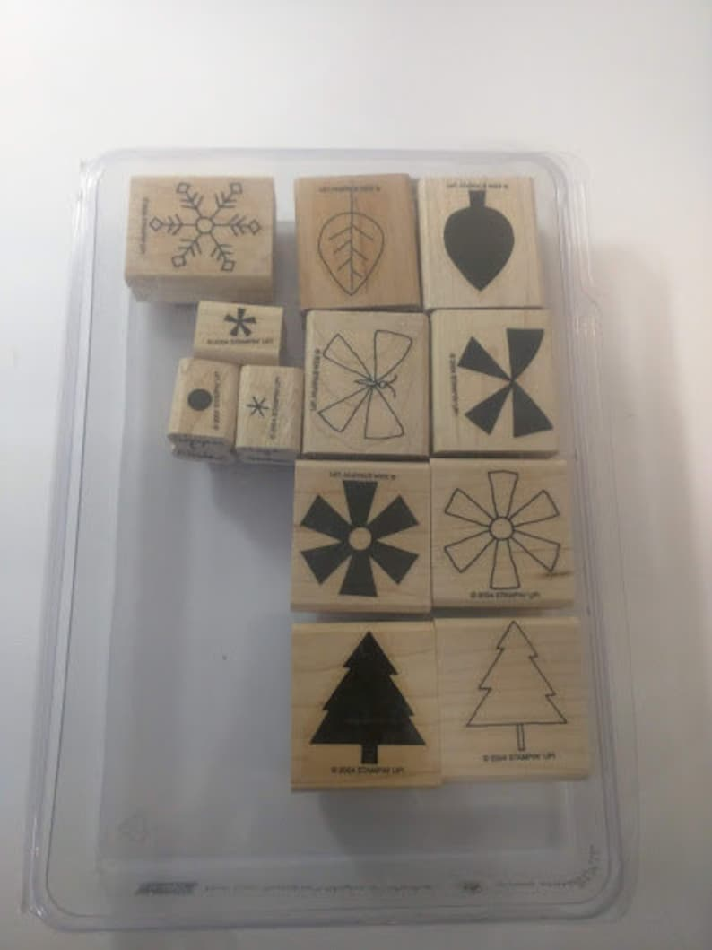 Stampin' Up Shapes And Shadows Gently Used image 0