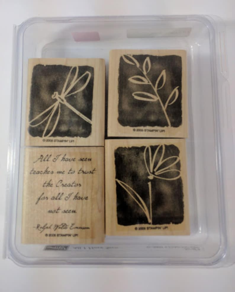 Stampin' Up All I Have Seen Gently Used image 0