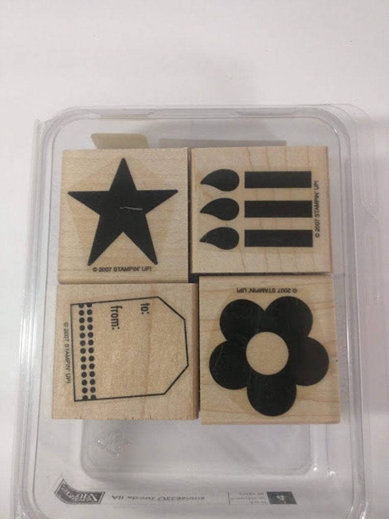 Stampin' Up All About Occasions Gently Used image 0