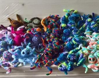 Crochet Octopus Keyring