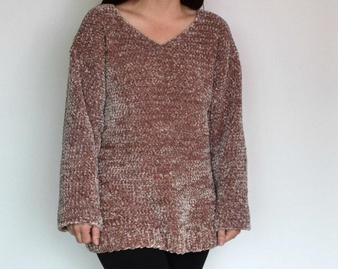 Velvet Pullover Crochet Pattern