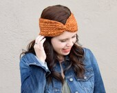 Campfire Ear Warmer Crochet PATTERN
