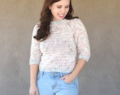 Everyday Raglan Sweater Crochet Pattern
