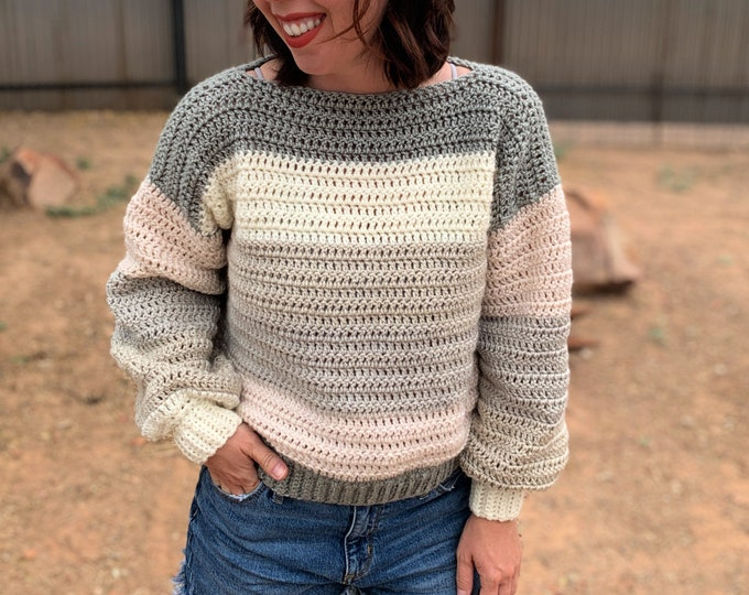 Everygirl Sweater Crochet Pattern