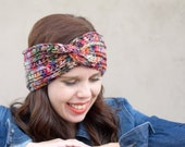 Slightly Twisted Ear Warmer Crochet PATTERN