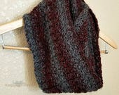 Claret Infinity Scarf Crochet PATTERN