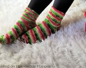Basic Socks Crochet PATTERN