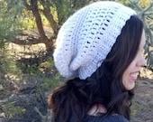 Easy Slouchy Beanie Crochet PATTERN