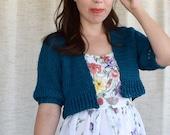 Cropped Cardi Crochet Cardigan PATTERN