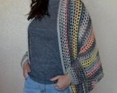 Cocoon Sweater Crochet PATTERN - Easy Crochet Pattern - Beginner Crochet Pattern - Crochet Blanket Sweater - Crochet Cardigan Sweater