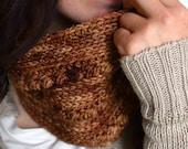 Cowl Crochet PATTERN - Scarf Crochet Pattern - Neck Warmer Pattern