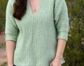 Weekender Pullover Crochet PATTERN