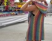 Crochet Vest PATTERN - Summer Crochet Pattern - Easy Crochet Pattern - Beginner Crochet Pattern - Caron Cake Pattern - Caron Cotton Cake