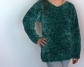 Kid's Velvet Sweater Crochet PATTERN