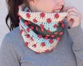 Crochet Cowl PATTERN - Crochet Scarf Pattern - Caron x Pantone Pattern