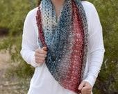 Moonstone Shawl Crochet PATTERN