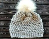 Pebble Beanie Crochet PATTERN