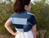 Crochet Shrug PATTERN - Crochet Cardigan Pattern - Easy Crochet Pattern