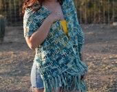 Crochet Wrap PATTERN - Crochet Shawl Pattern - Easy Crochet Pattern - Beginner Crochet Pattern
