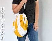 Crochet Market Bag PATTERN - Crochet Bag Pattern - Crochet Purse Pattern - Crochet Beach Bag Pattern