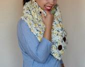 Crochet Cowl PATTERN - Crochet Scarf Pattern - Chunky Cowl Pattern