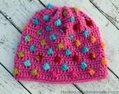 Bubblegum Beanie Crochet PATTERN