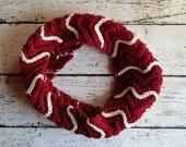 Textured Ripple Cowl Crochet PATTERN