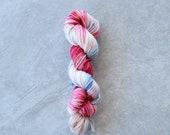 DK Weight Yarn - Hand Dyed Superwash Merino Wool - Romance