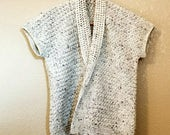 Tweed Cardigan Crochet PATTERN