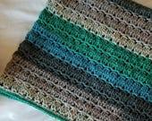 Baby Blanket Crochet PATTERN - Crochet Afghan Pattern - Crochet Blanket Pattern - Easy Crochet Pattern - Caron Cakes Pattern