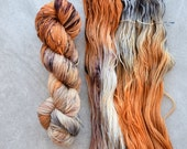 Sock Weight Yarn - Hand Dyed Merino Wool - Calico
