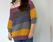 Everygirl Sweater Crochet PATTERN