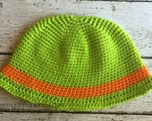 Toddler Sun Hat Crochet PATTERN