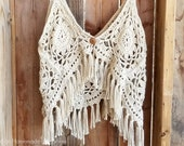 Boho Tank Top Crochet PATTERN