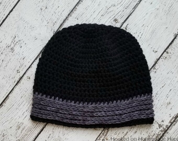 All HDC Crochet Beanie Pattern