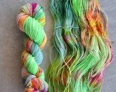 Hand Dyed Yarn - Sport Weight Yarn - Superwash Merino Wool Yarn - Amazon