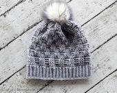 Crochet Beanie PATTERN - Crochet Toque Pattern - Hat Crochet Pattern