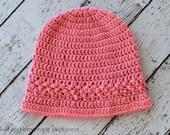 Crochet Hat PATTERN - Crochet Beanie Pattern - Crochet Toque Pattern - Easy Crochet Pattern - Beginner Crochet Pattern - Bucket Hat