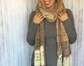 Buttercream Scarf Crochet PATTERN