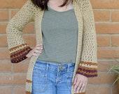 Crochet Cardigan PATTERN - Crochet Duster Pattern - Crochet Sweater Pattern - Boho Crochet Pattern - Boho Style