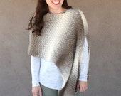 Landscape Wrap Crochet PATTERN