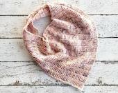 Crochet Cowl PATTERN - Crochet Infinity Scarf Pattern - Crochet Pattern  - Easy Crochet Pattern