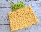 Pineapple Crochet Top PATTERN - Kids Crochet Top Pattern