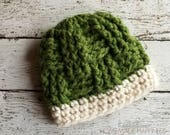 Chunky Beanie PATTERN - Toddler Beanie Pattern - Bulky Crochet Beanie - Crochet Hat - Crochet Hat Pattern - Slouchy Beanie - Slouchy Hat