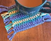 Crochet Coasters PATTERN - Crochet Pattern - PDF Pattern - Easy Crochet Pattern - Beginner Crochet Pattern - Home Decor - Crochet Coasters