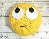 Crochet Amigurumi PATTERN - Crochet Toy Pattern - Crochet Emoji - Emoji Toy - Crochet Pattern