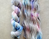 Hand Dyed Yarn - DK Weight Yarn - Superwash Merino Wool Yarn -Ever After