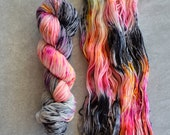 Hand Dyed Yarn - Sport Weight Yarn - Superwash Merino Wool Yarn - State Fair